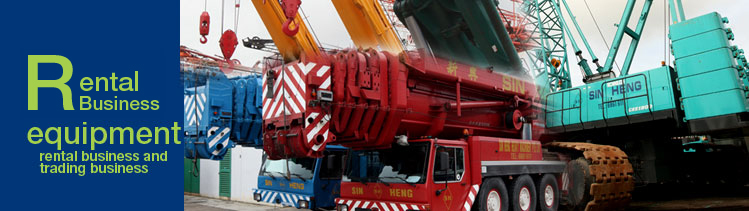 Crane Rental List | Sin Heng Heavy Machinery Limited